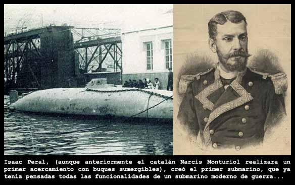 El submarino de Isac Peral